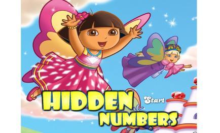 Kaşif dora ile resimdeki saklı sayıları bulacaksınız. Dora oyunlarına eklediğ...