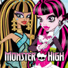 Monster'in kahramanları Frankie Stien,Draculaura,Clawdeen Wolf,Cleo de Nile,L...