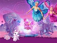 Barbie Mariposa ve peri prenseslerin resimlerindeki gizli harfleri bulun. 5 t...