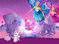 Barbie Mariposa Gizli Harfler