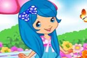 çilek kız giydirme oyunumuzda çilek kızı giydirerek sevdiğimiz çilek kız kara...