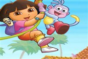 Dora çiçek toplama oyunumuz üç bölümden oluşuyor. Dora'nın evinin etrafında v...