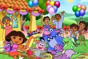 Dora gizli harfler macerası