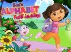 Dora ile alfabe macerası oyunu oynamaya hazır mısınız? Dora kitap okumaya çok...