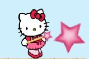 hello kitty yıldız avında! sevimli kediciğimiz hello kitty bir platform oyunu...