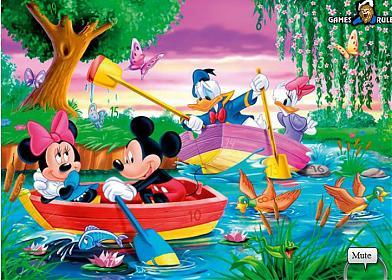Disney'in ünlü karakteri mickey mouse türkçesi miki fare ile gizli sayılar oy...