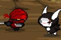 Tavşan Ninja oyunlarını oyna,<br/> Tavşan Ninja ile tüm ninjaları kesin. Samu...