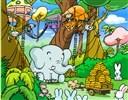 Ormanda harfleri bul Oyunu, Meb oyunları ve en güzel harf oyunları Zeka Oyunları bedava...
