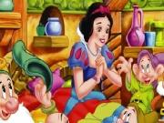 Pamuk prenses ve yedi cücelerin resimlerindeki 10 farkı bulacağız. Fark bulma...