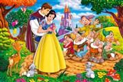 Pamuk Prenses ve Yedi Cüceler Gizli harfler oyunu. Pamuk prenses ve sevgilisi...