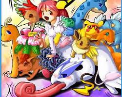 Pokemon oyun karakterlerinin sevilen yıldızları  Pikachu gibi bir çok ünlü ka...