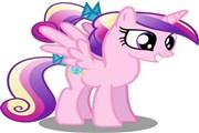 My little pony prenses cadance oyununda prenses cadancenin 5 farklı resmindek...