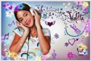 Disney channel'de yayınlanan sevilen dizi karakteri violetta'nın resimlerinde...