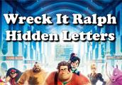 Disney channel'in animasyon filmi wreck it ralph albümünde gizli harfleri bul...