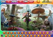 Gizli alfabe oyunumuzda Alice Harikalar Diyarında gizli alfabe oyunu başlatma...