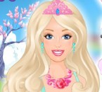 Barbie prenses giydirme oyunumuzda sevimli prensesimiz barbie çok şık bir bal...