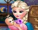 Frozen oyunlarının vazgeçilmez iki karakterinden biri olan Elsa, artık anne o...