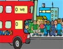 Yolcuları Otobüse Bindir